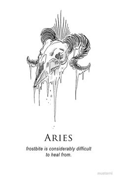 Aries - Shitty Horoscopes Book II: Anger by musterni