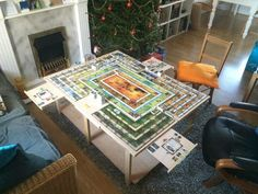 Talisman Board Game Table!