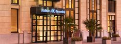 Hilton Brussels City - entrance