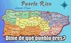 Map of Puerto Rico, Puerto Rican Map and it\'s Island possesions ...