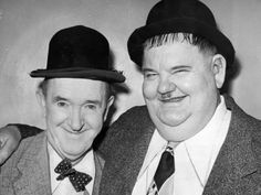 Comedy duo Stan Laurel and Oliver Hardy Laurel And Hardy, Stan Laurel Oliver Hardy, Great Comedies, Classic Comedies, Santa Monica, Funeral, Georgie, Comedy Duos, Sound Film