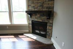 The Fireside Retreat – Corner Stone Fireplace