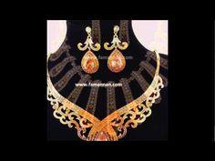 Topaz Bridal Birthstone New Fashion 2015 Gold Jewellery.