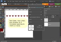 how to draw lines, dotted lines, and decorative boarders in photoshop