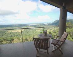 View from the private balcony at Ocaso Cerro Bed & Breakfast in Ojochal, Costa Rica