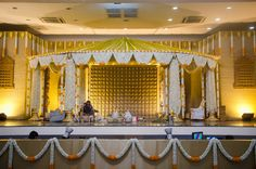 Manessa's Mandap! Use this for telling him about ours