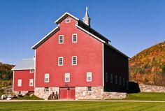 Rustic Wedding Venue: West Monitor Barn- Richmond, VT