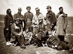 French command staff in the Crimea.