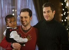 Kevin and Scotty (Matthew Rhys and Luke MacFarlane), Brothers & Sisters