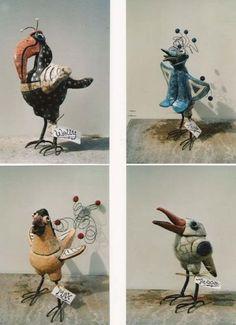 Ceramic birds by faye