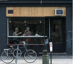 Sam James Coffee Bar. And around the corner from work. Perfect.