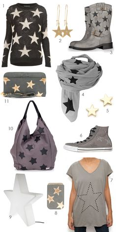 star themed holiday gift guide, featured on the style files