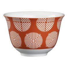 Circle Orange Small Bowl