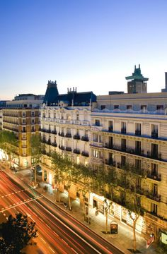 calle Serrano, one of Madrid's poshest shopping areas, couture and near-couture boutiques vogue and much more...