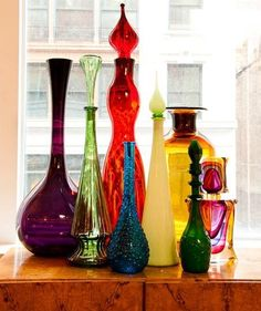 glass and color