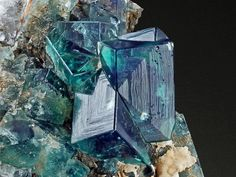 Fluorite Eastgate Quarry, Weardale, Durham, UK Size: x x cm Photo… Minerals And Gemstones, Rocks And Minerals, Natural Crystals, Stones And Crystals, Gem Stones, 7 Chakras, Beautiful Rocks, Mineral Stone, Rocks And Gems