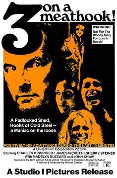 Three On A Meathook - 1972 - Movie Poster