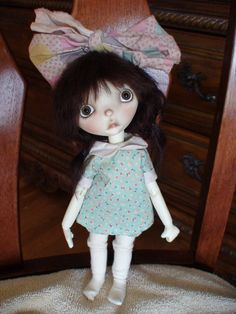 "Connie Lowe OOAK FRAZZLE  SPROCKET 10"" Doll FULLSET Marbled Halls    #ConnieLoweMarbledHalls"