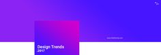 """The best trends article I've seen yet. """"2017 Design Trends Guide"""""""