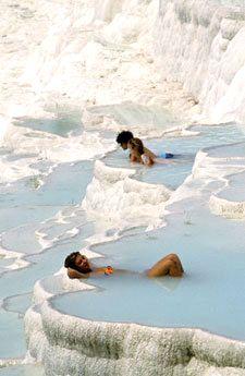 Thermal Pools... Pamukkale, Turkey