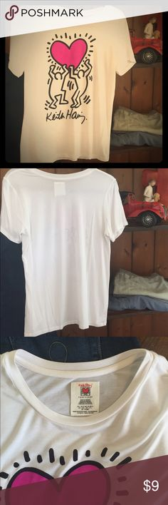 Forever 21 vintage T/Shirt Short sleeve T-shirt, soft light weight, no wear Great condition, Large but fits like a S/M, smoke free home Forever 21 Tops Tees - Short Sleeve