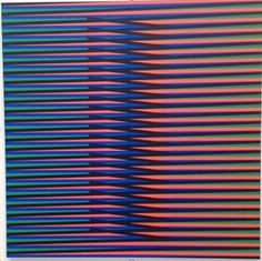 carlos cruz diez✋Artist Carlos Cruz-Diez✋ More Pins Like This At FOSTERGINGER @ Pinterest✋