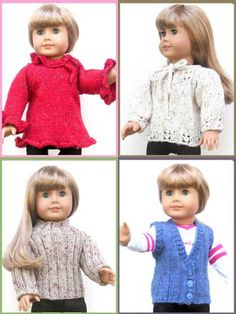 "18"" Doll Sweaters Collection Two"