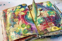 I find this art journal amazing. Maija Pape