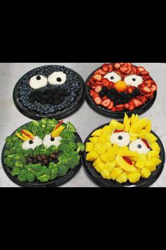Sesame Street party trays