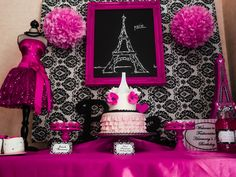 """Photo 1 of 18: Paris Party / Birthday """"Paris Party"""" 