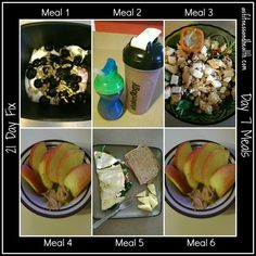 21 day fix week 1 opinions and meal plan!