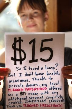 The services that PP offer are so important to people with low incomes, no income or no insurance.  How many lives have they saved?