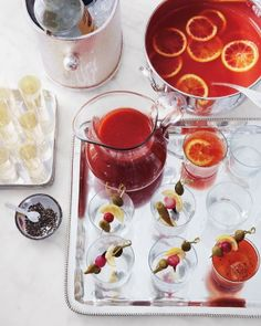 Fall Cockatils To Sip On For Your Oscars Party - Mulled Blood-Orange Punch