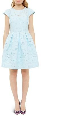 Shop Now - >  https://api.shopstyle.com/action/apiVisitRetailer?id=628385407&pid=uid6996-25233114-59 Ted Baker Lace Party Dress  ...
