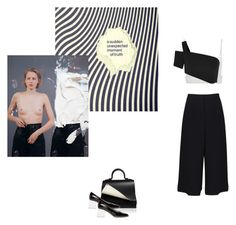 """""""how far will you go?"""" by hemngways ❤ liked on Polyvore featuring Vera Wang, Thierry Mugler, TIBI, Perrin and Amélie Pichard"""