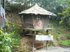 Minority Tribes Cultural Village - Zhuang and Yao tribes - on the way to the Longji Rice Terraces in Longsheng.
