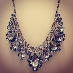 #necklace #bling #bold!!!                                                                                                                                                                                 More
