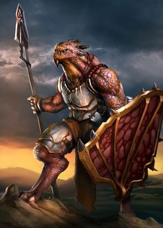 Exploring ideas for a redesigned dragonborn race. Fantasy Races, Fantasy Warrior, Fantasy Rpg, Medieval Fantasy, Dungeons And Dragons Characters, D&d Dungeons And Dragons, Dnd Characters, Fantasy Characters, Dnd Paladin