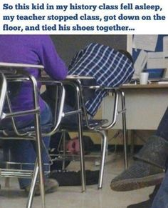 33 Teachers Who Got The Last Laugh. I want all of these teachers to be my teacher!!!!