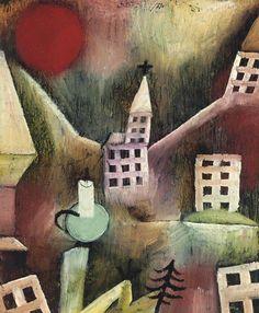 Paul Klee (1879-1940) Hij groeide op in Zwitserland, speelde zeer goed viool, maar koos - ondanks weerstand van zijn ouders - voor de schilderkunst. In 1933 kwam een ommekeer. Paul Klee werd vrij snel nadat de nationaal-socialisten aan de macht gekomen waren, op staande voet ontslagen. Eerst werd hij ervan 'beschuldigd' Jood te zijn, maar zijn ontslag hing ook samen met zijn vermeende linkse politieke activiteiten. Zijn werk was in die tijd vaak bedroefd.