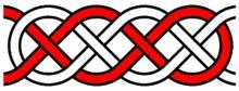Basket weave knot #handmade #jewelry #knot #knotting #macrame