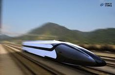 high speed trains  Black white concept fast