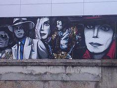 Street Art by Domenico Carbone, Italy. Michael Jackson, Graffiti, Mural Art, Murals, Michael Art, Archangel Michael, Music Icon, Ems, Fan Art