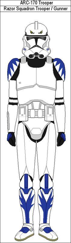 Razor Squadron Trooper Gunner by MarcusStarkiller on DeviantArt