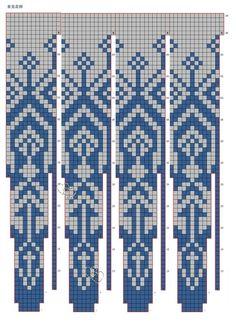 Intarsia Knitting, Knitting Charts, Knitting Patterns Free, Knit Patterns, Stitch Patterns, Crochet Pullover Pattern, Knit Crochet, Cross Stitch Pillow, Jewelry Chest