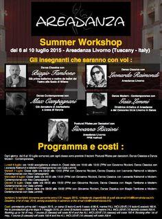 #danza  #dance  #weekendinpalcoscenico  #ilportale da 06/07/2015 a 10/07/2015 Summer Workshop LUOGO: Areadanza, via Ferraris 4G REGIONE: Toscana PROVINCIA: Livorno CITTA': Livorno http://www.weekendinpalcoscenico.it/portale-danza/doc.asp?pr1_cod=4797#.VS5i3_msXGU