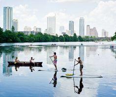 tourist Austin / kayak and stand up paddle board rentals on Lady Bird Lake/Town Lake Austin