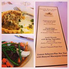 Winemaker Dinner date night - photo courtesy of @jlak via Instagram