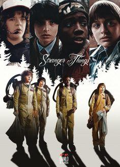 Stranger Things #strangerthings #netflix #eleven #dustin #mike #lucas #will