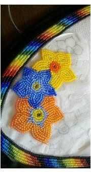 Indian Beadwork, Native Beadwork, Native American Beadwork, Loom Beading, Beading Patterns, Beaded Moccasins, Beadwork Designs, Native American Crafts, Nativity Crafts